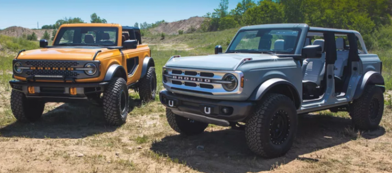 2021 Ford Bronco Delayed
