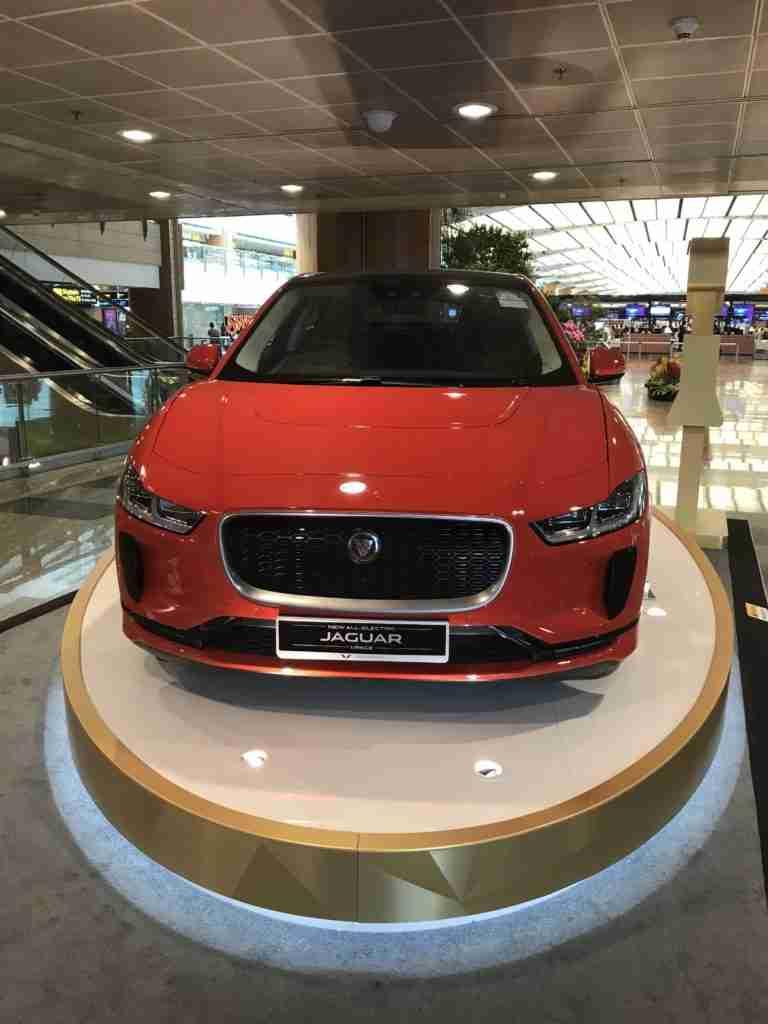 Is the Jaguar I pace Electric?