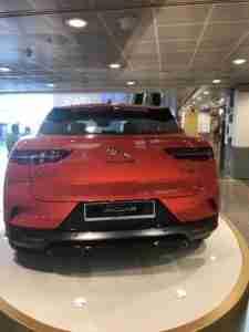 jaguar i pace rear view