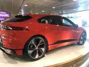 jaguar rear quarter panel view