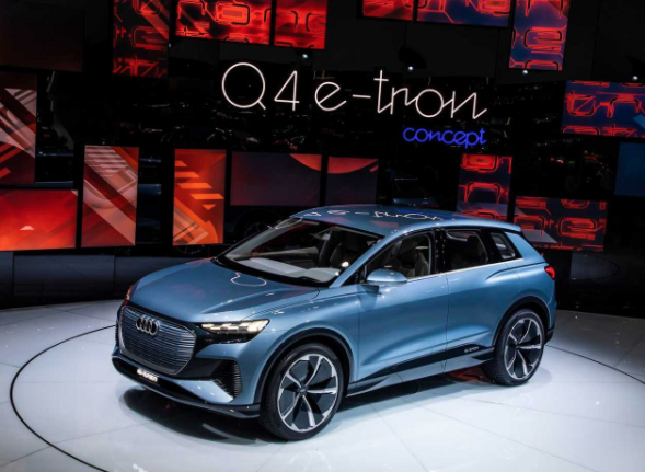 is there an audi q4 e tron?