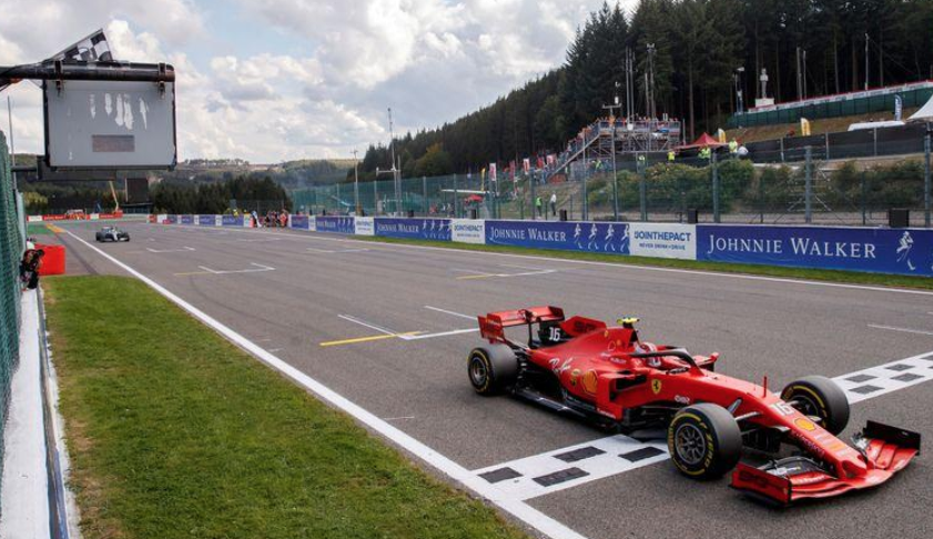 is the belgian grand prix cancelled?