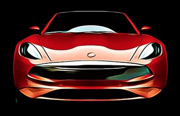 Karma Revero GT Front