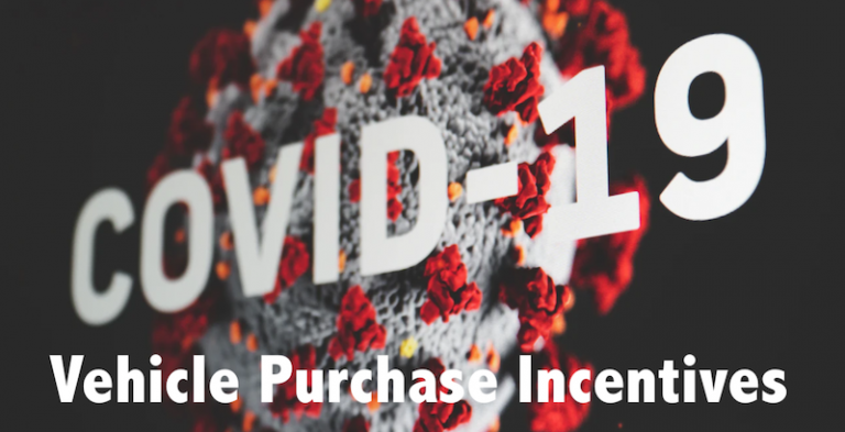 Pandemic Vehicle Purchase Incentives