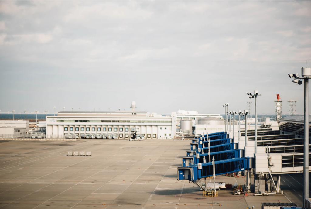 empty airport gates