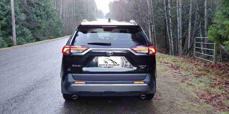 2021 RAV 4 Limited Rear