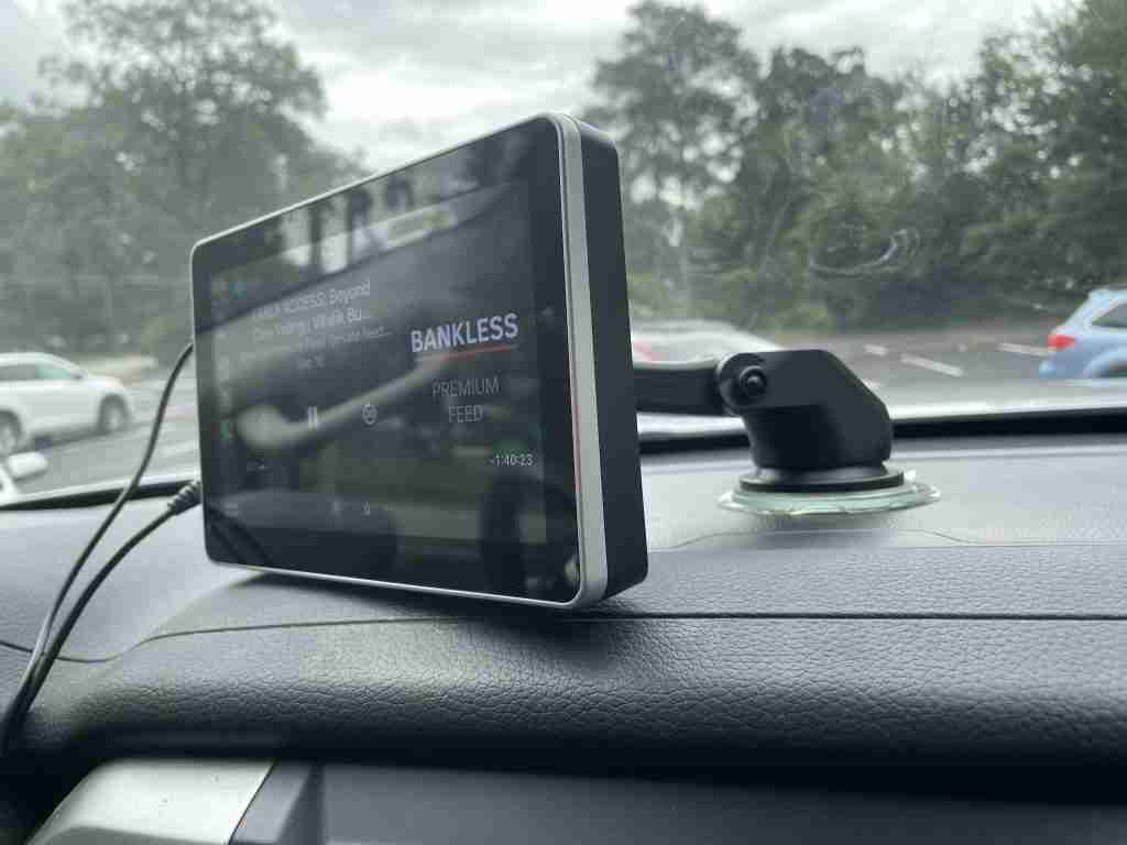 Read more about the article Intellidash Pro is an external CarPlay unit that works with any car